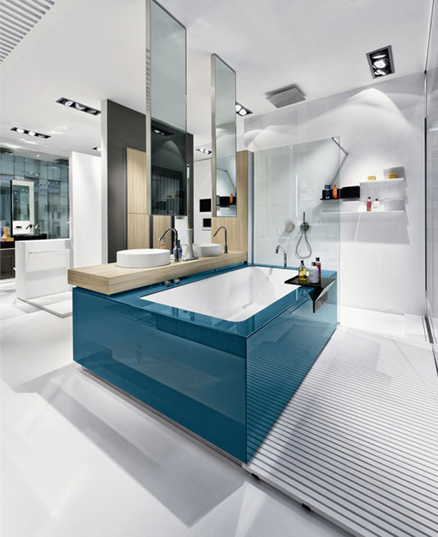 现代浴室家具设计