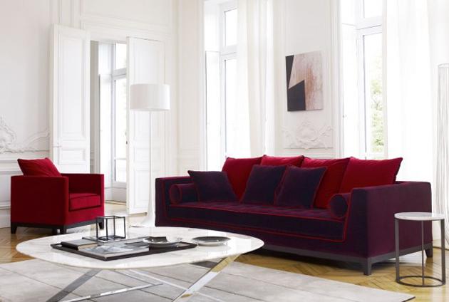 新款沙发  意大利B&B现代沙发设