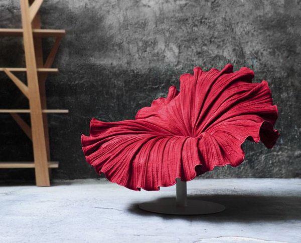 Kenneth Cobonpue设计的荷叶椅——酒
