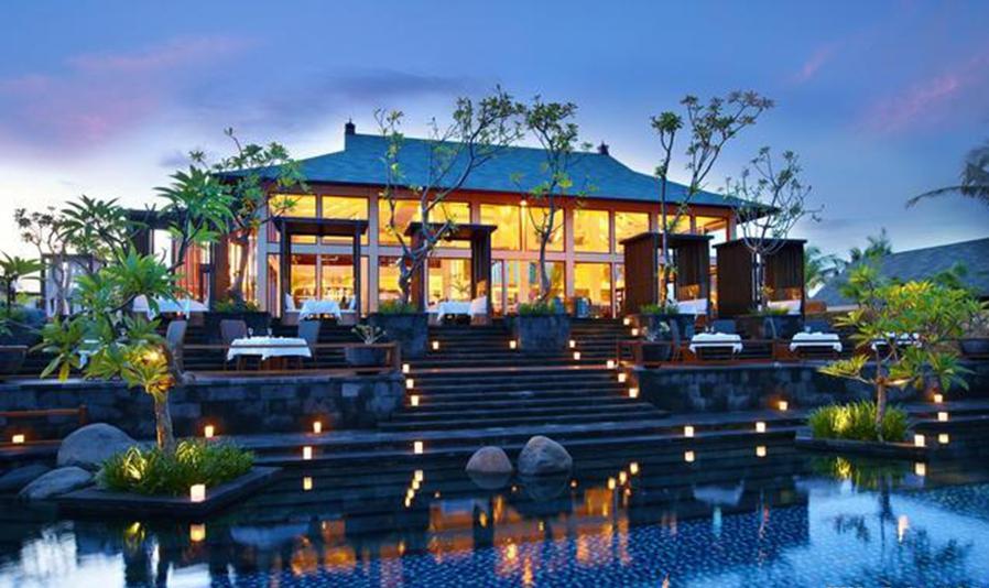 东南亚度假风情的酒店