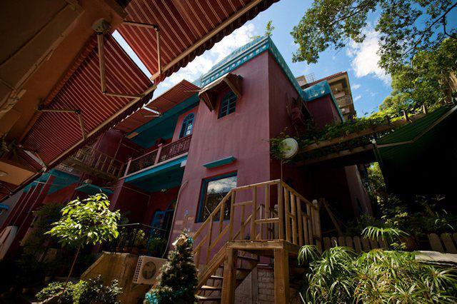 绿色幽幽,山舍咖啡旅馆