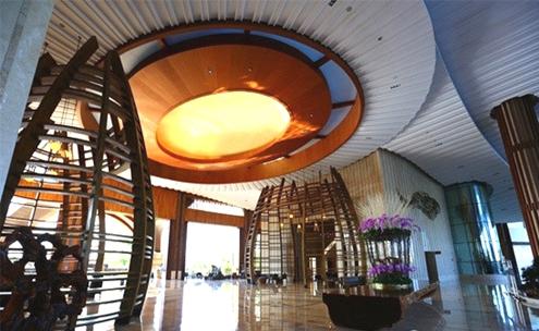 海洋天堂,精雕细琢的酒店设计